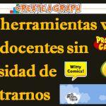 1312 herramientas web para docentes sin necesidad de registrarnos