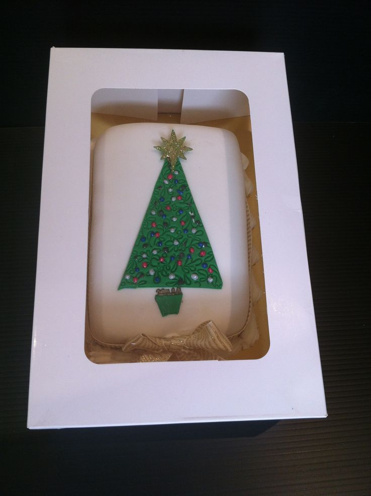 Christmas Tree Log Cake. All these cakes are a traditional rich fruit cake with that Australian touch - we also add lemon myrtle and ground wattleseed