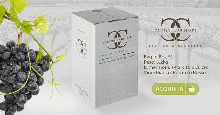 Bag In Box 5lt. – Cantine Casimirri