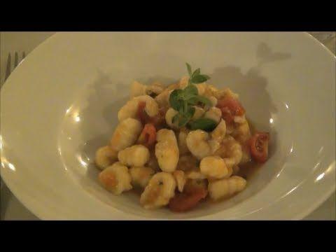 Preview video recipe Gnocchi con ragù di pesce di lago | Anteprima video ricetta Gnocchi with lake fish by Italian Cooking Chef