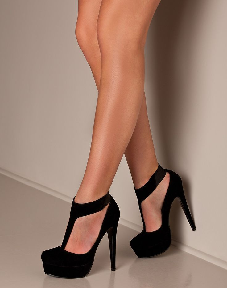 Black Heels  ... These are basic, but sexy... I like. I can't seem to find these beauties any where