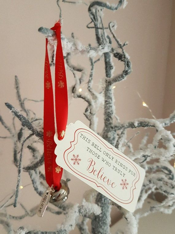 Polar express I believe jingle bell. Ideal stocking filler or hang on your tree. Comes in a gift bag with a free candy cane We also make magic keys and Reindeer food.