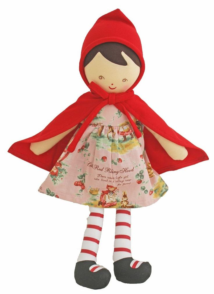 Alimrose Red Riding Hood Doll - $49 Cute Red Riding Hood Doll Measures 39cm tall
