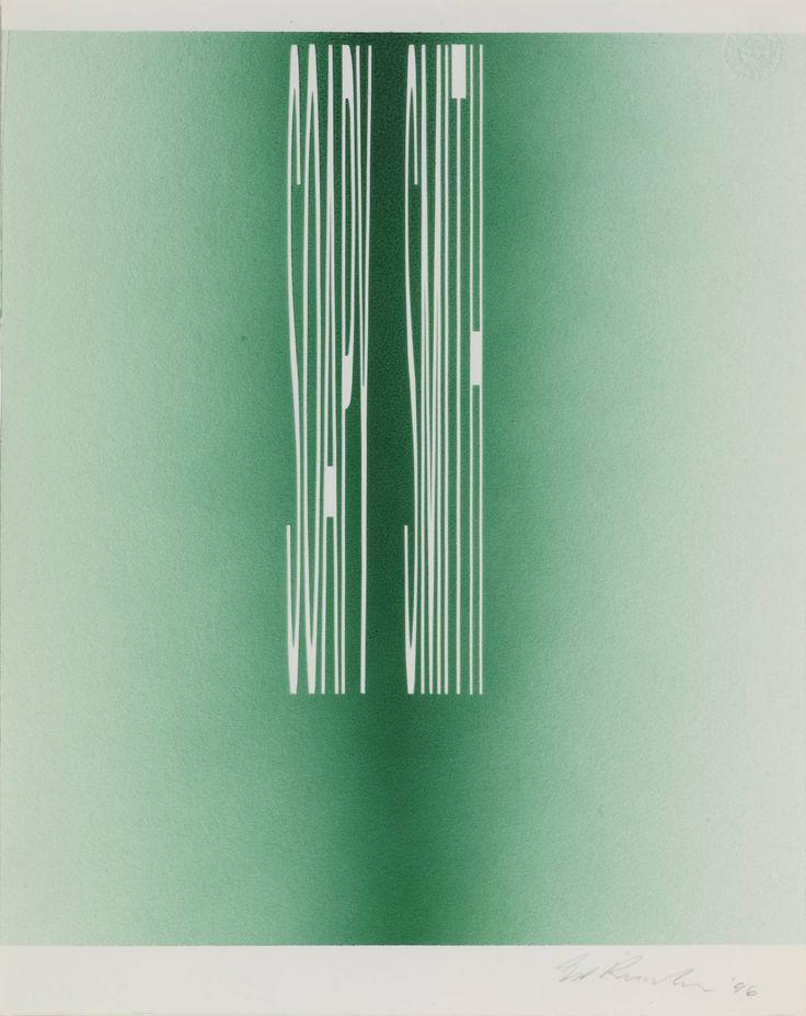 Edward Ruscha, 'SOAPY SMITH' 1996