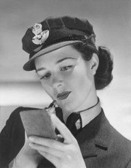 Member of the W.A.A.F (Womens Auxiliary Air Force) shown with make up as an experiment by Reveille newspaper to see whether women in the forces should wear make up following criticism of a Red Cross nurse by a retired Brigadier-General Sir Archibald Fraser Home. 1941 - Gala Archive, LCF my-health-care-trends