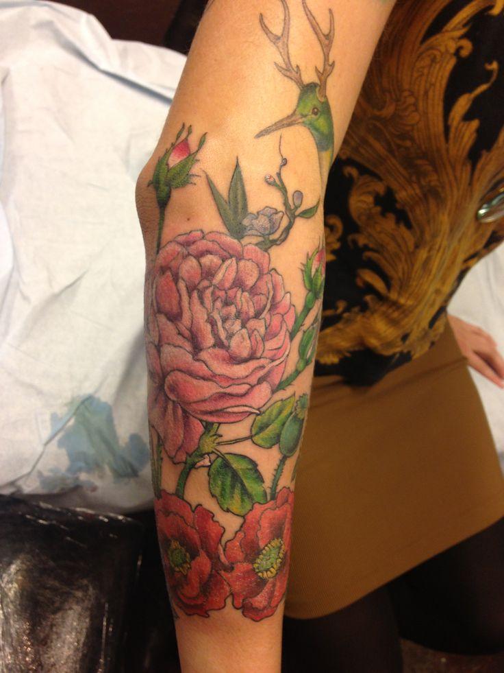 Flower Tattoo Artist Tattooist Flower 타투이스트: Vintage Flower Tattoo, Tattoos