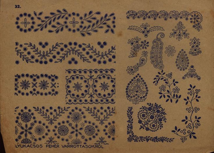 Hungarian motifs