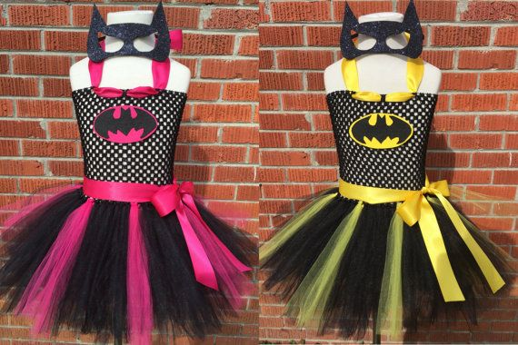 Batman Costume Batman Tutu Dress Batman Tutu by ChachaTutu