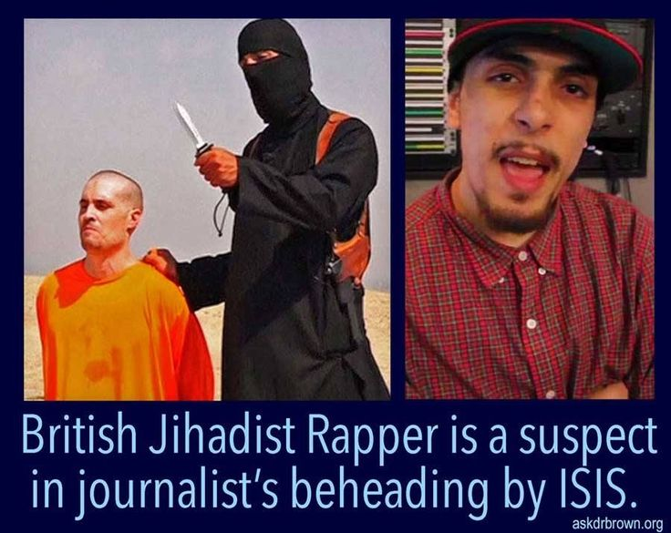 """This should be a real eye-opener! """"Jihadi-cool"""" is spreading in the Western world. Check out this recent news: A British rapper whose father is awaiting trial in Manhattan for a pair of US embassy bombings is a leading suspect in the barbaric beheading of American journalist James Foley, it was revealed on Friday"""
