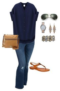 """""""Plus Size Outfit- Spring, Fall"""" by jmc6115 on Polyvore"""