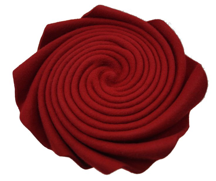 NOMADE RED FURFELT NR1601- CLOCHE