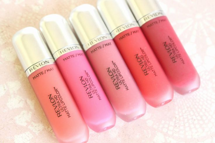 Revlon Ultra HD Matte Lipcolor review with swatches! So helpful!