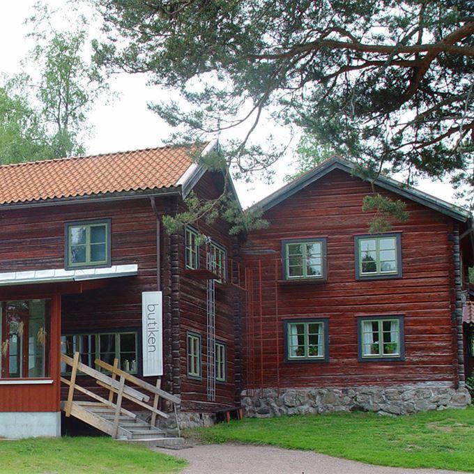 Sätergläntan's handicraft shop and webshop