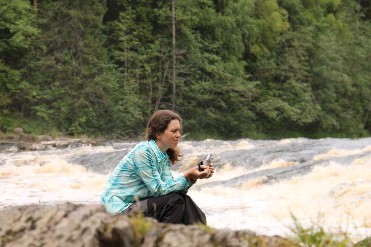 Чашка ароматного кофе☕️сваренного в 5утра,на свежем воздухе,под журчание реки-незабываема!!! #Карелия #путешествие #водныйтуризм#сплав #кофе
