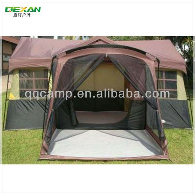 Source 3 rooms outdoor cabana house tent for 14 persons on m.alibaba.com