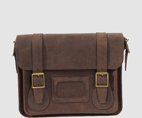 "The Official Dr. Martens USA Store - 11"" LEATHER SATCHEL"