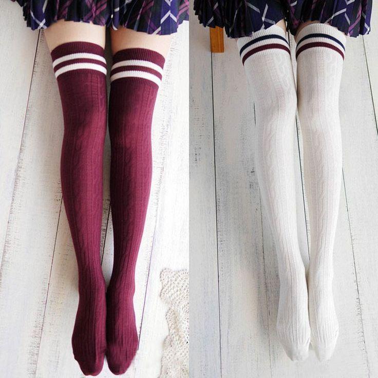 Купить товарPuscard 1 пара мода новое дизайнер прекрасные девушки принцесса сапоги длинные носки в категории Чулки для женщинна AliExpress.      Колледж Ветер бедро высокие носки, чулки Над коленом девушки женская                             Характеристика