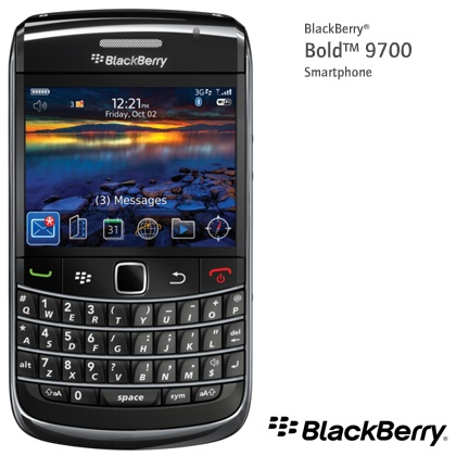The Blackberry Bold 9700 by RIM