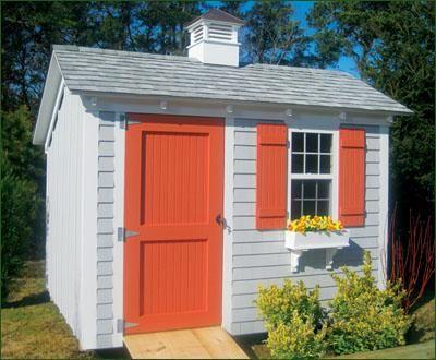 8 x 10 stony brook saltbox this 8 x 10 saltbox backyard shedsgarden - Garden Sheds 8 X 16