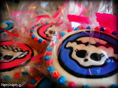 Mighty Delighty: How to Make Monster High Cookies