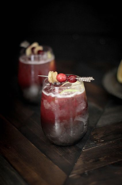 guest post by @beardandbonnet cranberry ginger moscow mule