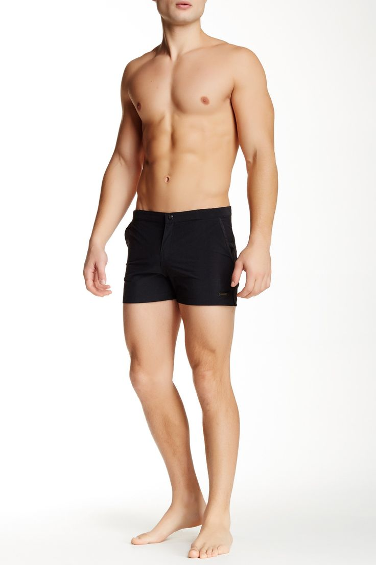 "2"" Angeleno Houston Solid Stretch Swim Trunk by Parke & Ronen on @nordstrom_rack"