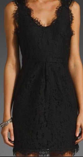 Beautiful little black dress.