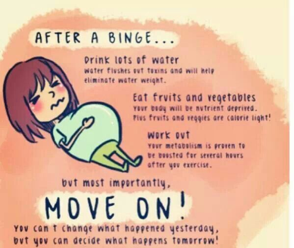 how to keep from binge eating