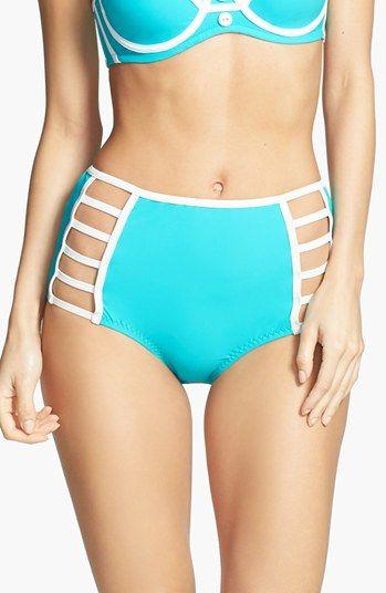 #RED CARTER               #Swimwear                 #Carter #Dream #Genie' #High #Waist #Bikini #Bottoms #Aqua #Medium            Red Carter 'I Dream of Genie' High Waist Bikini Bottoms Aqua Medium                                     http://www.seapai.com/product.aspx?PID=5316881