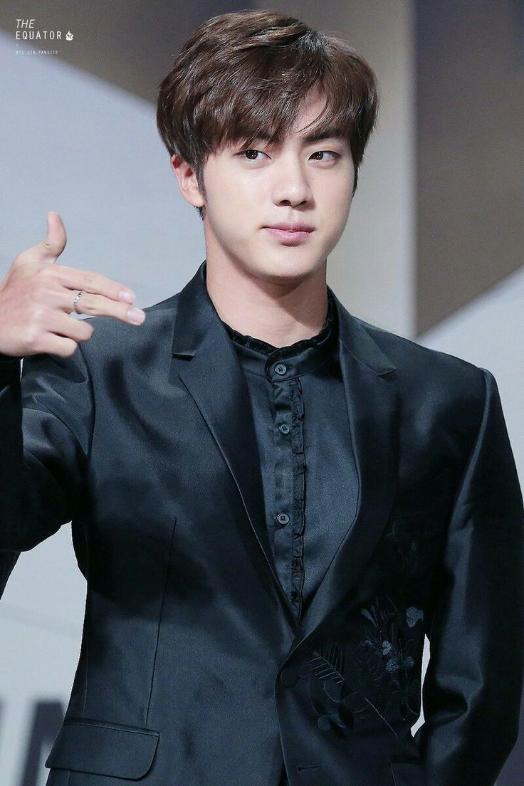 "•161202 BTS' JIN @ MAMA 2016 || They won ""Best dance performance male group"" and Daesang ""ARTIST OF THE YEAR"""