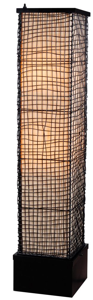 Trellis Outdoor Floor Lamp shown in Bronze Finish by Kenroy Home - KNRY-32250BRZ