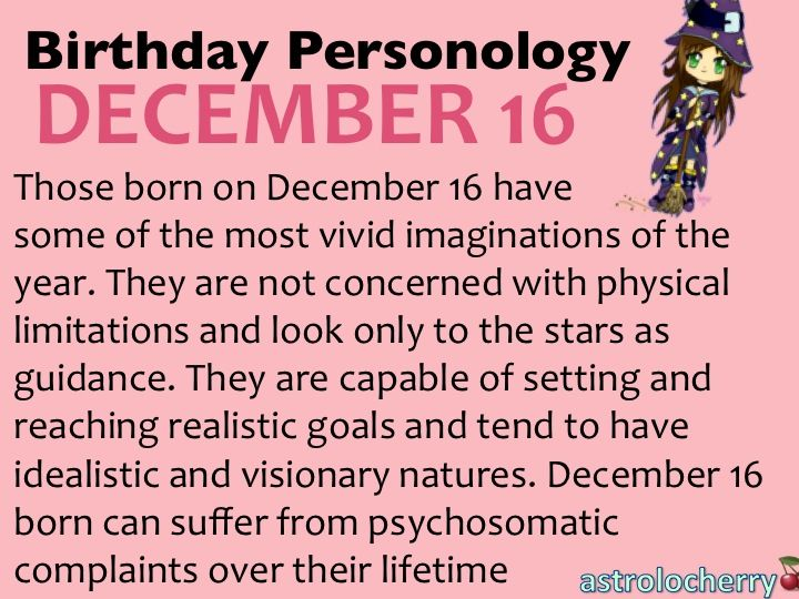 12 best december personology images on Pinterest ...