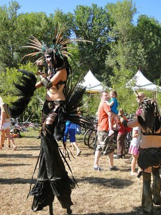 Photos of Oregon Country Fair 2012: wonderfully weird - HinesSight