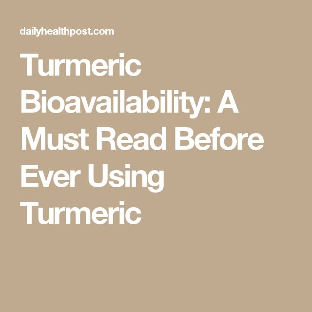 Turmeric Bioavailability: A Must Read Before Ever Using Turmeric