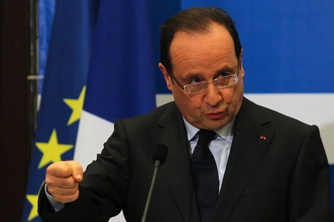 France's Hollande Urges Russia to Leave Syria | News | The Moscow Times