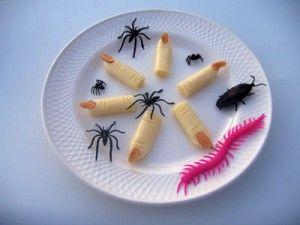 dedos de bruja. recetas halloween