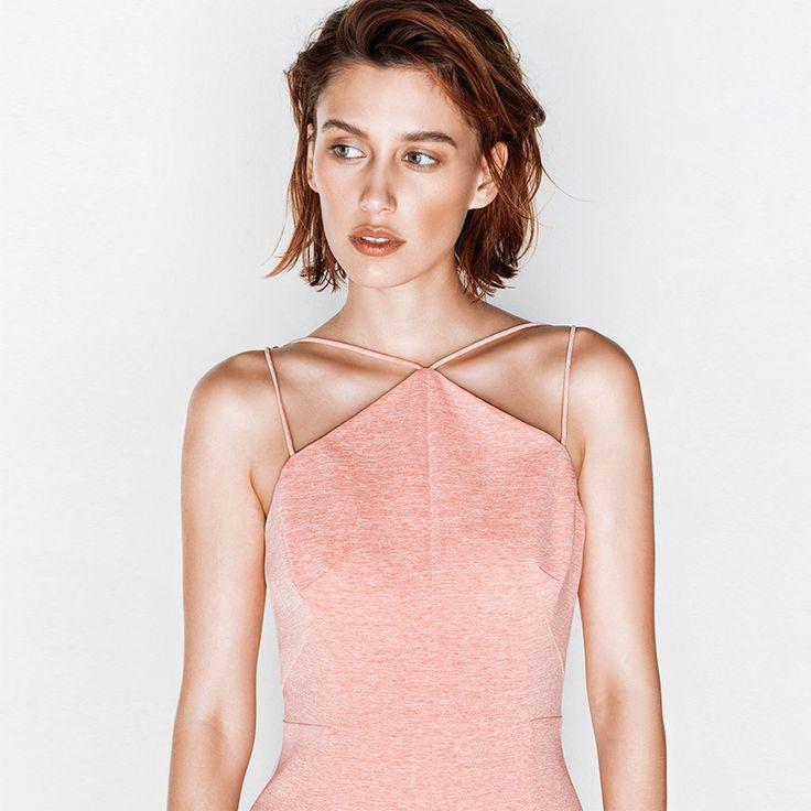 Melange Pencil Dress