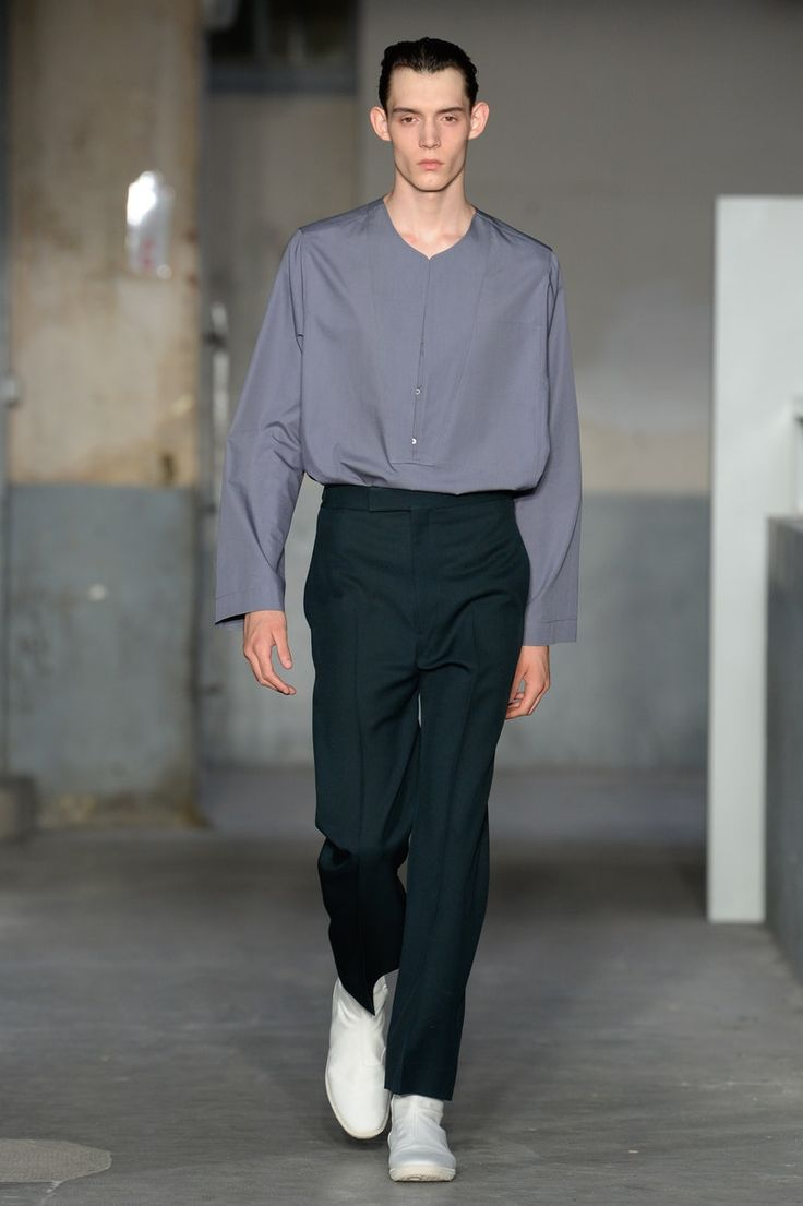 Lemaire | Menswear - Spring 2018 | Look 7