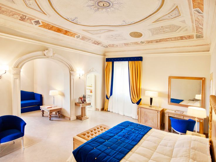 In every #room you can feel the essence of art...     *A dream stay at Villa Tolomei Hotel #Florence*     #luxuryhotel #luxurytravel #luxurysuite
