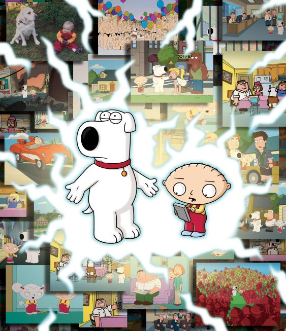 Road to the Multiverse -   Brian & Stewie go on an out-of-this-world trip. Season: 8 Episode: 1