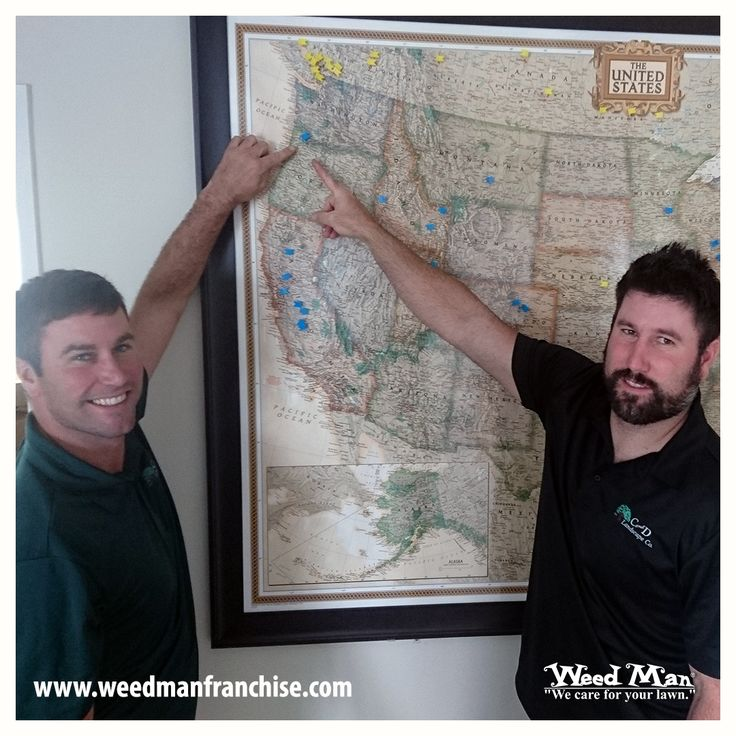 Please help us in welcoming our newest franchisees out of Portland West! We are so happy to have them as part of the Weed Man team. Congratulations!!