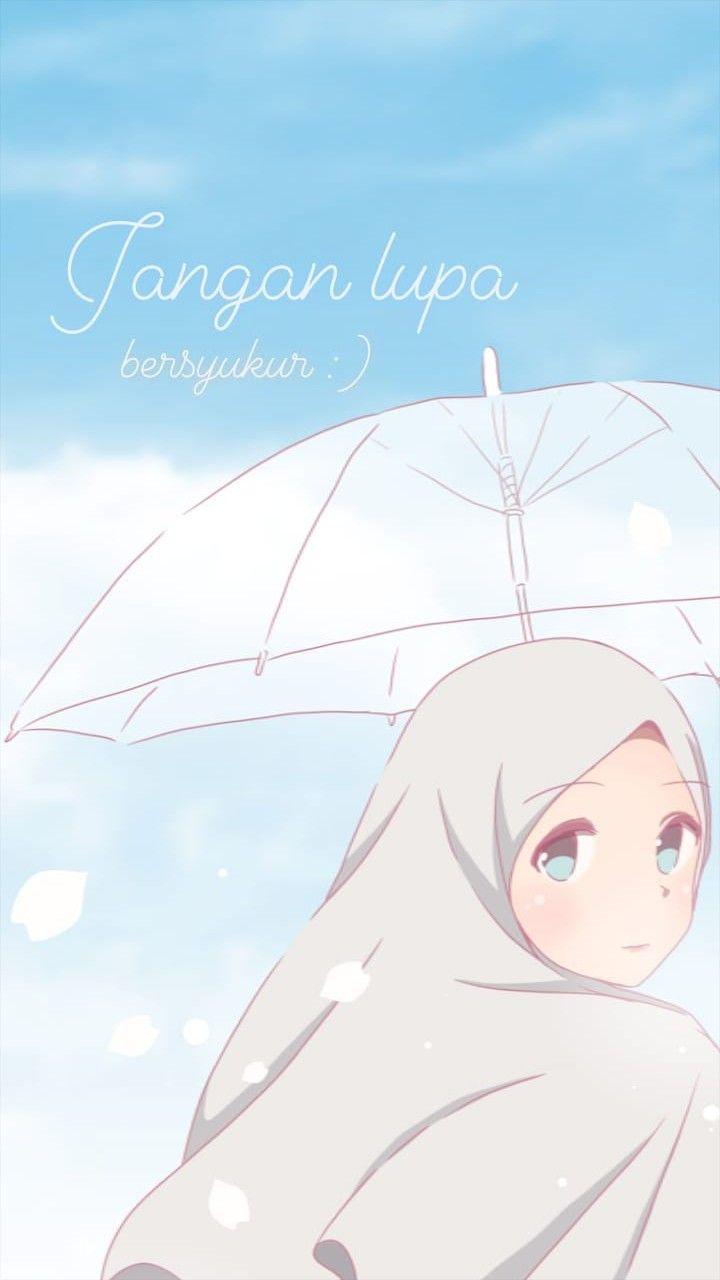 Pin Oleh Nurlita Di Anime Muslimah Elit Ilustrasi Karakter Gadis Animasi Seni Islamis
