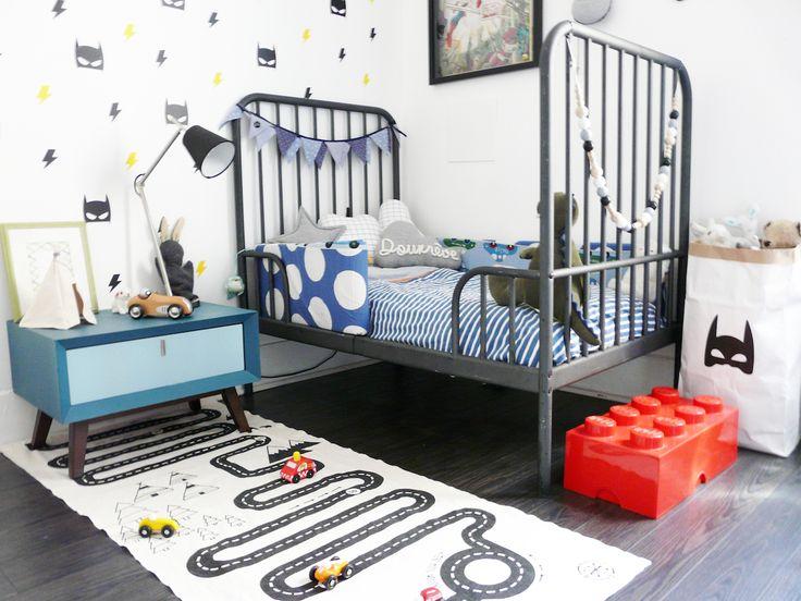 Deco Petite Chambre Bebe Garcon : à propos de Chambre De Voiture De Course sur Pinterest  Chambre