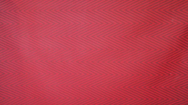 Tekstil voksdug i sildeben rød pris 125 kr pr. meter www.skumhuset.dk