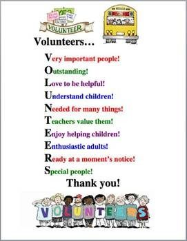 Everyone has a different definition of what being a volunteer is.