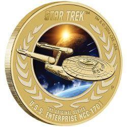 Star Trek: The Original Sereis U.S.S. Enterprise NCC-1701 Stamp