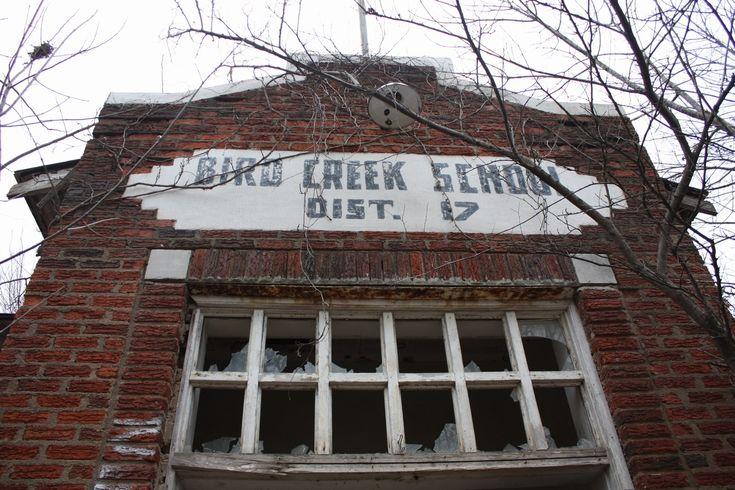 Bird Creek School, Pawhuska, Oklahoma.
