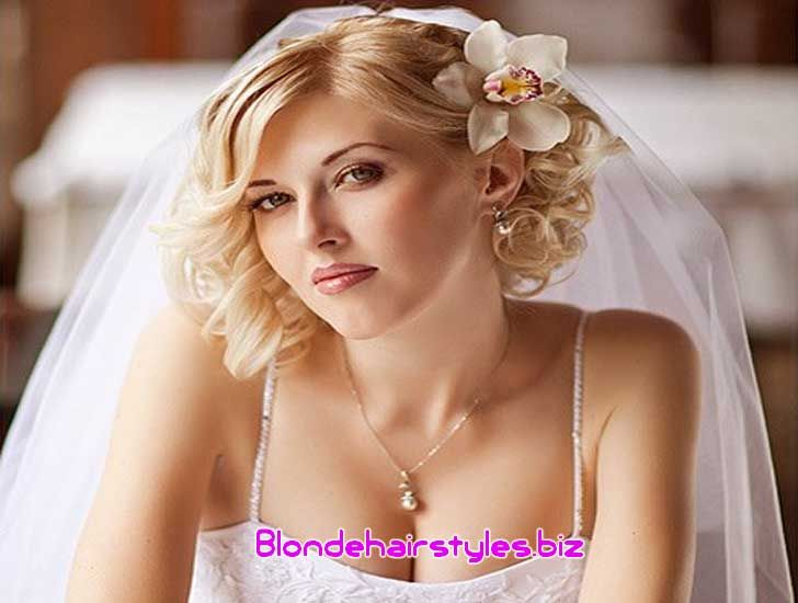 Image for Beautiful Short Wedding Hairstyle