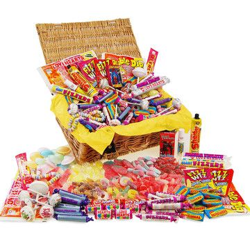 Retro Sweets: Fizzy Favourites Sweets Hamper, at 6% off!