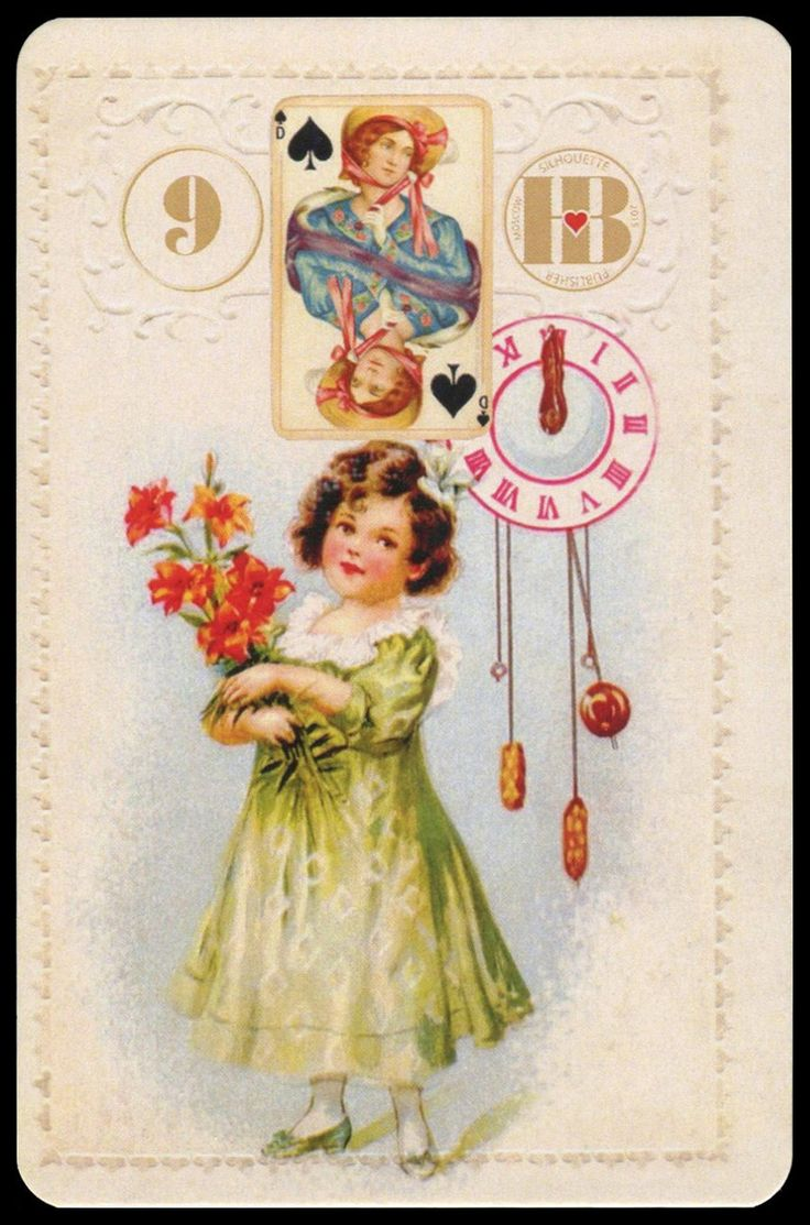 The Marie Lenormand Christmas Oracle Divination Cards
